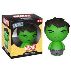 Hulk not smash. The Hulk Marvel Series 1 Dorbz Vinyl Figure measures approximately tall. This loveable little Avenger comes in a double window-box package to fully display the character from both front and back! Hulk Marvel, Ms Marvel, Marvel Comics, Avengers, Captain Marvel, Captain America, Paw Patrol, Power Rangers, Toys