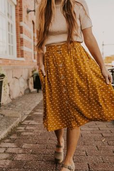 Dressy Outfits, Modest Outfits, Skirt Outfits, Casual Dresses, Fashion Outfits, Ladies Fashion, Fashion Skirts, Earthy Outfits, Fashion Edgy