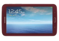 Samsung Launches Limited Edition Garnet Red Galaxy Tab 3 7.0 In The US