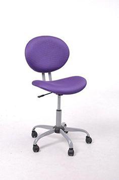 GreenForest Mid Back Mesh Task Chair for Computer Desk Purple
