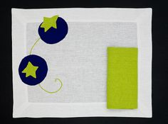 PLACEMAT TOMATO - Blue blue