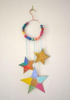 Glitter Star Mobiles