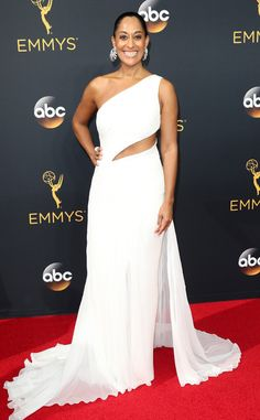 Tracee Ellis Ross 2016 Emmys... Wow, gorgeous. Turn this to bridal by adding the right bridal embellishments that fits your style.