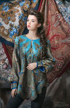 php 233 пикс Muslim Fashion, Boho Fashion, Womens Fashion, Fashion Tips, Mode Russe, Couture, Ukrainian Dress, Fancy Tops, Moda Vintage