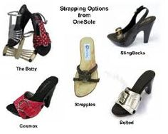 """Onesole Interchangeable Shoe /""""TOPS/"""" Fresh Fish CLOSE OUT"""