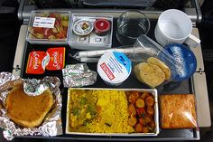 Singapore Airline, indian vegetarian meal