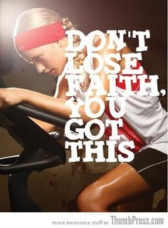 The only way to finish is to start. Great motivational workout pics!