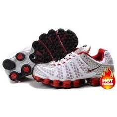 promo code 0bde8 9f3f9 Find Men s Nike Shox TL Shoes White Red Silver For Sale online or in  Pumarihanna. Shop Top Brands and the latest styles Men s Nike Shox TL Shoes  ...
