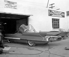 Before being converted into the Batmobile at Barris' shop
