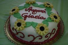Il compleanno di Giada!  Creazione floreale della pasticceria La Mimosa di Tollo  http://www.simocakedesigner.it