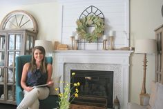 """This weeks challenge is how to get that """"Fixer Upper"""" style. I had a friend  recently tell me """"I love the way Joanna Gaines decorates on her show Fixer  Upper, but I don't know where to even start to achieve a look like hers..."""