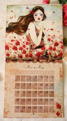 60 Unique 2013 Calendar Designs - Hongkiat