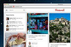 Pinterest presenta su nuevo look, con funciones de descubrimiento y mejoras sutiles