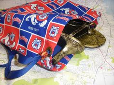 Fresno State Shoe Bag 20 by NotWithoutAnnette on Etsy, $15.00