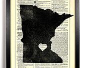 Minnesota. It may not be the most exciting state, but it is where I grew up and where my heart is!