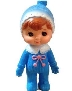 Blue Woodland Doll