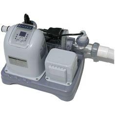 Intex 2650 Sand Filter Saltwater Generator Swimming Pool System