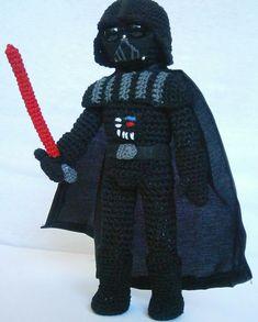 Ravelry: Darth Vader amigurumi pattern by Maddalena Tinazzi (AmigurumiAmo)