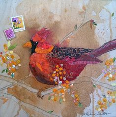 Paper Paintings by Elizabeth St. Hilaire Nelson