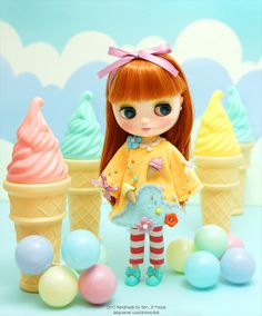 Sweet Ice Cream by dressy doll, via Flickr