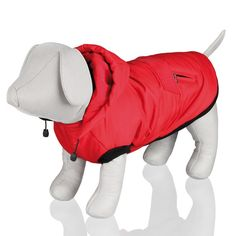 23473 What Is The Warmest Winter Coat Material Palermo, Dog Winter Coat, Gucci, Red Dog, Dog Coats, Backrest Pillow, Dog Pictures, Baby Car Seats, Dinosaur Stuffed Animal