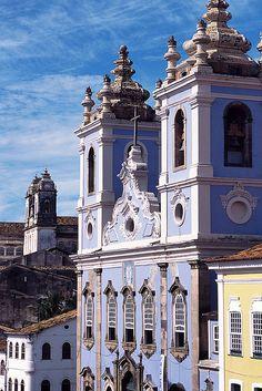 Brazil - Salvador, Bahía, Igreja de Nossa Senhora do Rosário dos Homens Pretos.