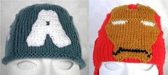 Items similar to Hand knitted Captain America and Iron Man inspired baby hats for Avengers fans on Etsy Baby Wearing, Baby Hats, Captain America, Hand Knitting, Iron Man, Cute Babies, Avengers, Crochet Hats, Beanie