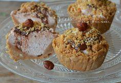 Crostatine fredde panna nutella e nocciole senza cottura
