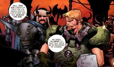Fandral and Hogun