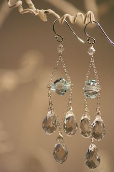 2009: Light Azure with crystal clear chandeliers.