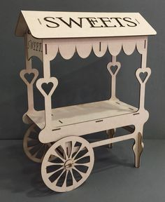 Celebration Party Sweet Candy Cart Trolley Holder Place Table Display Stand for sale online Sweet Cart For Sale, Sweet Carts, 3d Puzzel, Candy Cart, Flower Cart, Bride And Groom Gifts, Bride Groom, Birthday Candy, Wedding Candy