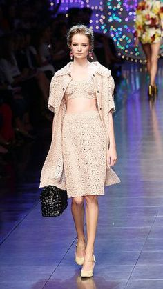 #crochet by Dolce and Gabbana