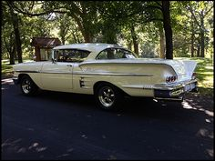 1958 Chevrolet Impala Hardtop 427/450 HP, 4-Speed