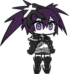 AmiAmi [Character & Hobby Shop] | Black Rock Shooter - Rubber Strap: Insane Black Rock Shooter