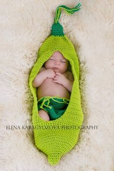 Diese Erbse pod für das Fotografieren bestimmt! ............................. Der Babycocoon bietet dem Neugeborenen Schutz und Sicherheit wie i...