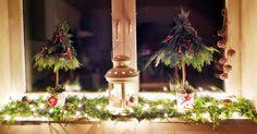 DIY - Świąteczna mini choinka