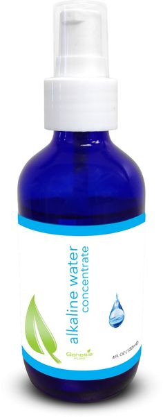 Alkaline Water Concentrate, visit the link for more information: www.genesispure.com/products/display/2074/alkaline-water-concentrate