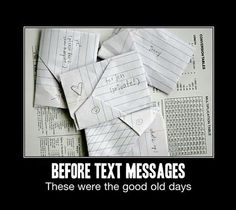 Before Text Message