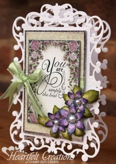 Heartfelt Creations | You Are