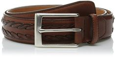 Allen Edmonds Men's Alcott Ave Belt with Buckle, Walnut, 34 *** Check out the image by visiting the link.