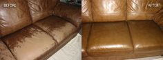 How to repair your leather couch Leather couches are much hardier than their fabric counter parts and can last for years if maintained correctly. If you leather becomes damaged howeve. Leather Couch Repair, Leather Furniture Repair, Leather Sofa, Upholstery Repair, Upholstery Foam, Upholstery Cushions, Upholstery Cleaning, Sofa Couch, Diy Sofa