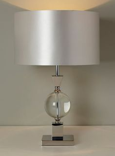 Clear Henlow Table Lamp - Table Lamps - Home, Lighting & Furniture