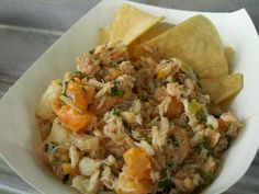 Sasaki Time: Food Truck Recipes: The Lime Truck - Crab, Scallop and Shrimp Ceviche!