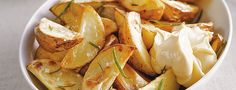 Gebakken aardappelpartjes met rozemarijn