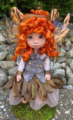 Indoor Fairy Gardens, Magical Images, Elf Doll, Fairy Figurines, Polymer Clay Dolls, Clay Miniatures, Fairy Art, Fairy Dolls, Collector Dolls