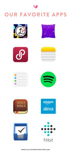 Our favorite apps to cultivate what matters—and some just for fun!