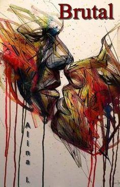 Alexandre Monteiro aka Hopare is a Paris-based growing figure of the street art scene. He discovered street art when he was around 12 yea. Banksy, Art Amour, Urbane Kunst, Illustration Art, Illustrations, Wow Art, Abstract Portrait, Abstract Art, Arte Pop