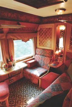 Luxury classic train.