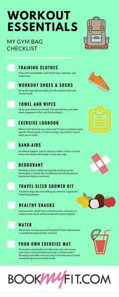 Workout Essentials - My Gym Bag Checklist: