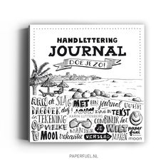 Whoop, whoop!!! My new book is out now! A book about handlettering a journal! #lettering #handlettering #journal #paperfuel